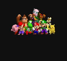 Super Smash Bros. 64 Cast Unisex T-Shirt