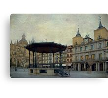 Plaza Mayor de Segovia Canvas Print