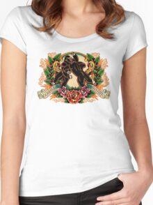 Gorilla Mayhem Women's Fitted Scoop T-Shirt