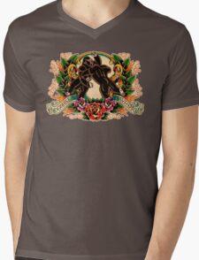 Gorilla Mayhem Mens V-Neck T-Shirt