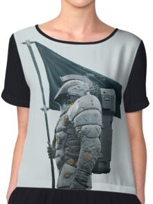 Kojima Productions We Are Ludens Chiffon Top