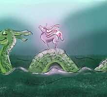 Nessie and Uni by JennySRP