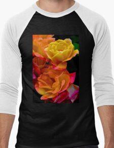 Rose 276 Men's Baseball ¾ T-Shirt