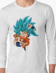 Super Saiyan Blue 3 Goku Long Sleeve T-Shirt