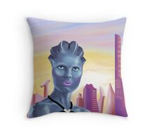 The Beauty of Ilium Throw Pillow