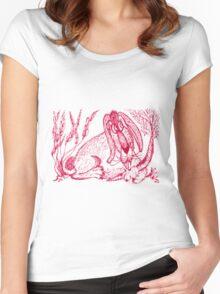 Swing Low Sweet Carrot Women's Fitted Scoop T-Shirt