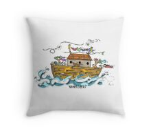 BLOWING IN THE WIND FOR GOD Throw Pillow