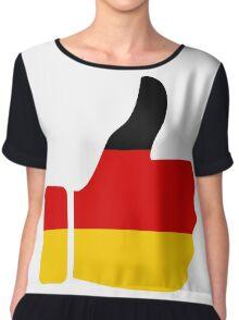 Thumbs Up Germany Chiffon Top