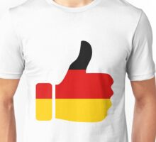 Thumbs Up Germany Unisex T-Shirt