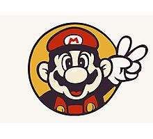 Mario Peace Photographic Print