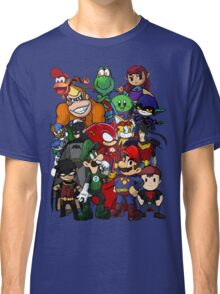The Justice League of Nintendo and Sidekicks Classic T-Shirt