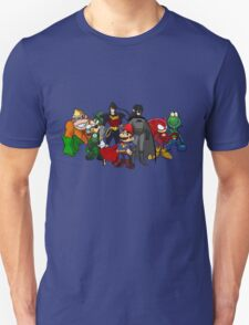 The Justice League of Nintendo T-Shirt