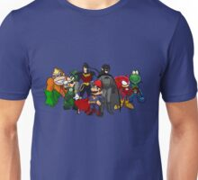 The Justice League of Nintendo Unisex T-Shirt