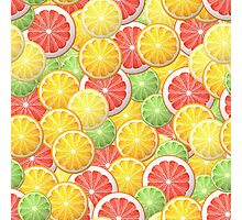 Citrus pattern Photographic Print