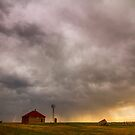 Stormy Skies On The Colorado Plains by Bo Insogna