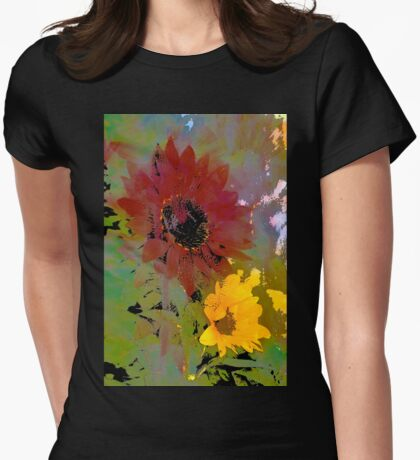 Sunflower 33 Womens Fitted T-Shirt