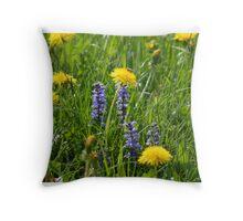 Wild Herbals Meadow Pillow Throw Pillow