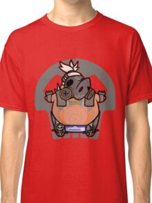 Apocalyptic Pig Classic T-Shirt