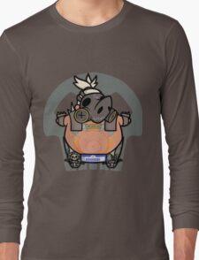 Apocalyptic Pig Long Sleeve T-Shirt