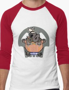 Apocalyptic Pig Men's Baseball ¾ T-Shirt