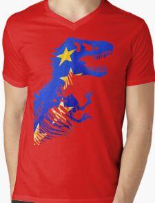 EU Rex Mens V-Neck T-Shirt