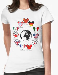 Epcot Womens Fitted T-Shirt