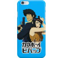 spike and faye valentine from cowboy bebop iPhone Case/Skin