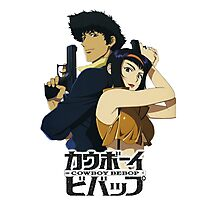 spike and faye valentine from cowboy bebop Photographic Print