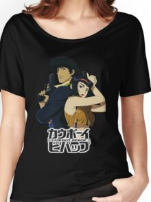 spike and faye valentine from cowboy bebop Women's Relaxed Fit T-Shirt