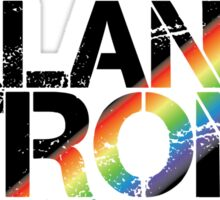 Orlando Strong White Rainbow Sticker