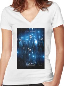 now you see me 2 dave franco Women's Fitted V-Neck T-Shirt