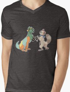 best buds Mens V-Neck T-Shirt