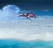 Stormy Ocean by Angelika  Vogel