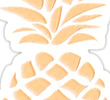 Pineapple texture 1 Sticker