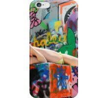 Graffiti Park - Model - Lin Tutu iPhone Case/Skin