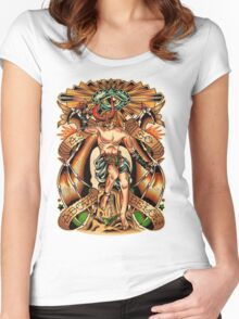As Above So Below II Women's Fitted Scoop T-Shirt
