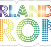 Orlando Strong Disco Lights Sticker