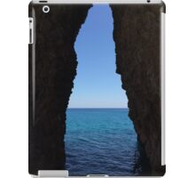 sea cave iPad Case/Skin
