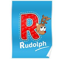 'R' is for Rudolph! Poster