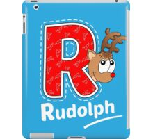 'R' is for Rudolph! iPad Case/Skin