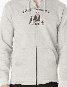 High Society Zipped Hoodie