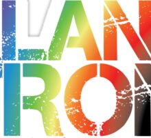Orlando Strong - Black Rainbow Sticker