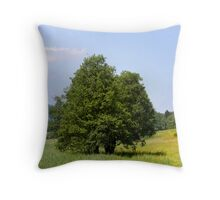 Murnau Moos Tree Pillow Throw Pillow