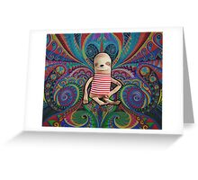 Trippy Sloth no. 1 Greeting Card
