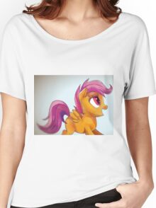 Scootaloo yay Women's Relaxed Fit T-Shirt