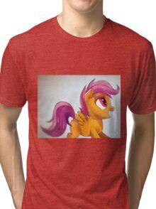 Scootaloo yay Tri-blend T-Shirt
