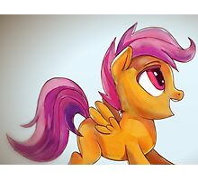 Scootaloo yay Photographic Print