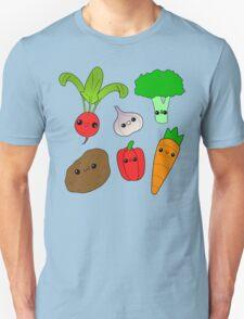 Chibi Veggies Unisex T-Shirt