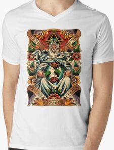 GOD II Mens V-Neck T-Shirt