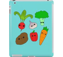 Chibi Veggies iPad Case/Skin